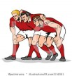 clip art rugby